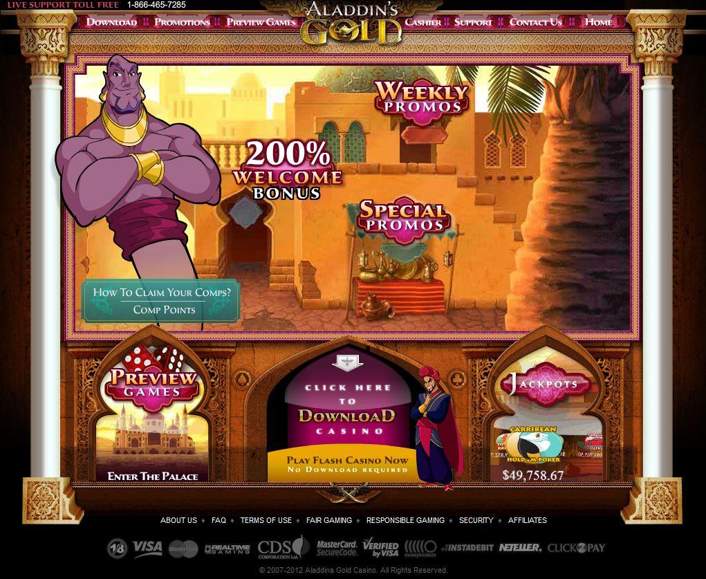 aladdin gold casino flash casino